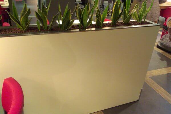 Witte_afscheidingswand_winkel_met_planten